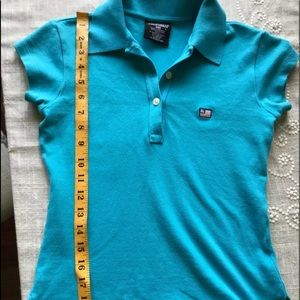 Ralph Lauren Polo Shirt Small Sea Blue